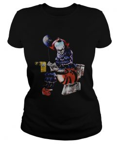 Pennywise Baltimore Ravens Pittsburgh Steelers and Cleveland Browns toilet  Classic Ladies