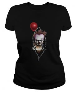 Pennywise IT in zipper pocket halloween  Classic Ladies