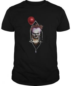 Pennywise IT in zipper pocket halloween  Unisex