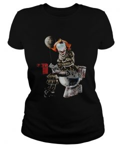 Pennywise New Orleans Saints Tampa Bay Buccaneers and Carolina Panthers toilet  Classic Ladies