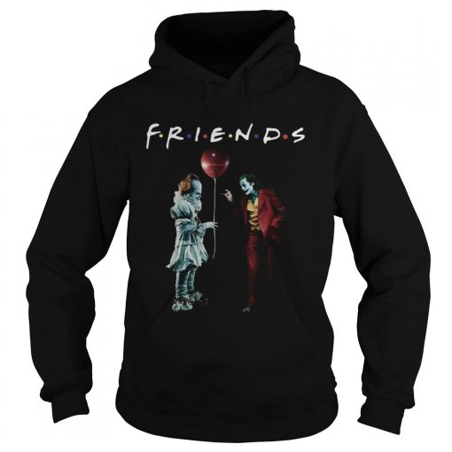 Pennywise with Joker friends tv show  Hoodie