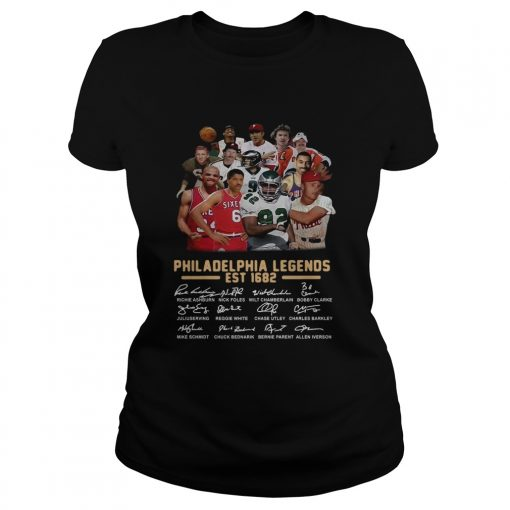 Philadelphia legends est 1682 signature  Classic Ladies