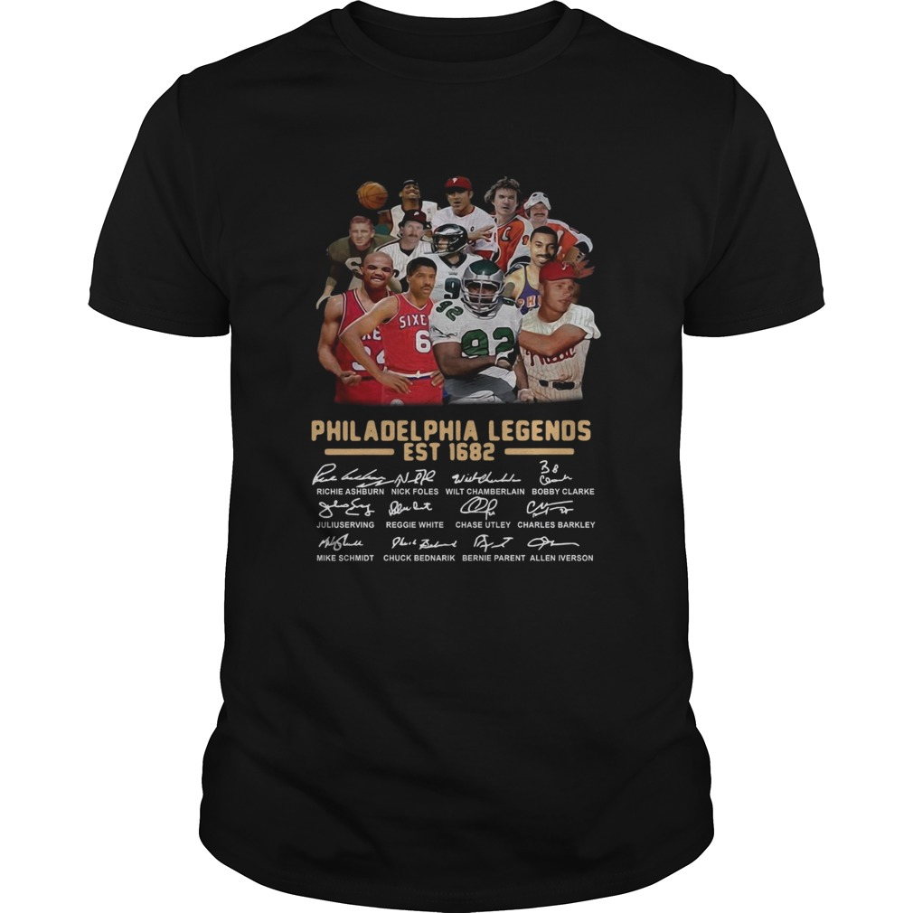 Philadelphia legends est 1682 signature Unisex