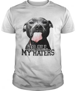 Pitbull to all my haters  Unisex