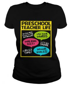 Preschool teacher life do you need to go to the bathroom use your words  Classic Ladies