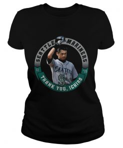 Seattle Mariners Majestic Thank You Ichiro Suzuki  Classic Ladies