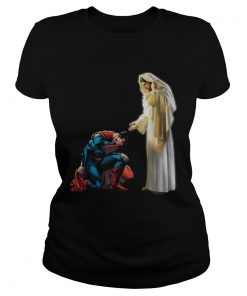 Superman end of head first Jesus  Classic Ladies