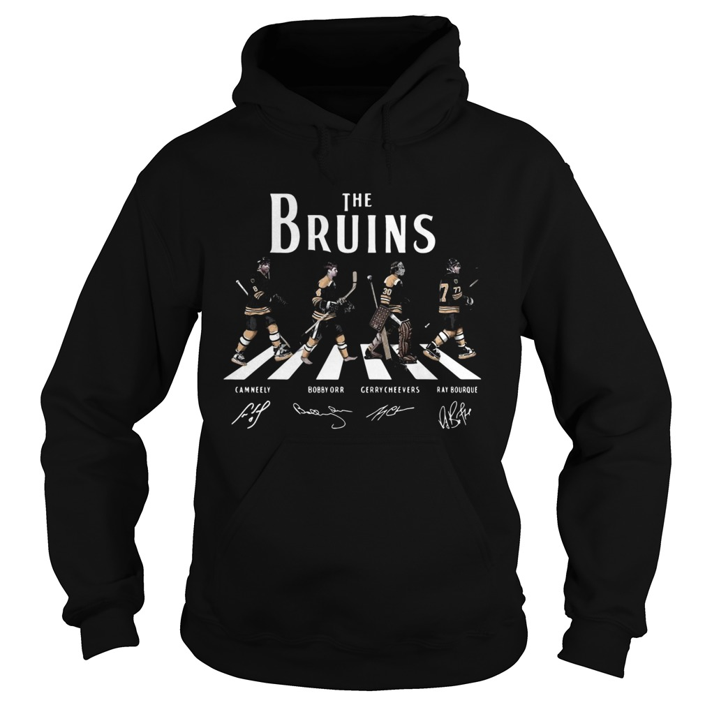 The Bruins Abbey Road signature Hoodie