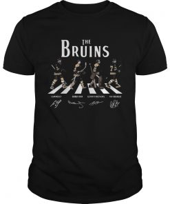 The Bruins Abbey Road signature  Unisex