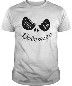 This is Halloween Jack Skellington  Unisex