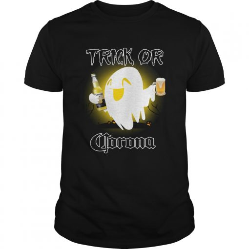 Trick or Corona ghost Halloween  Unisex
