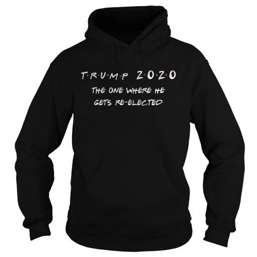 Trump 2020 the one where he gets reelected  Hoodie