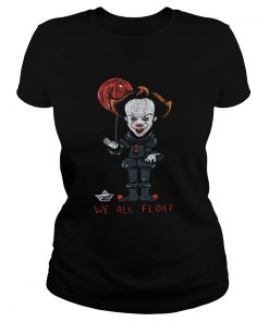 We all Float Pennywise art  Classic Ladies