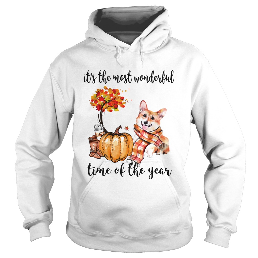 Welsh Corgi its the most wonderful time of the year Hoodie