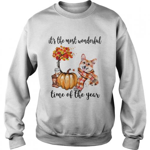 Welsh Corgi its the most wonderful time of the year  Sweatshirt