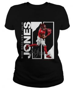 Wide Receiver Julio Jones Atlanta Football signature  Classic Ladies