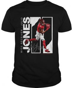 Wide Receiver Julio Jones Atlanta Football signature  Unisex