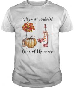 Wine Its the most wonderful time of the year  Unisex