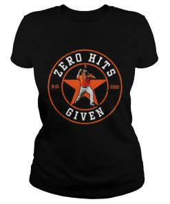 Zero Hits 9 01 2019 given Houston Astros  Classic Ladies