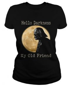 Darth Vader moon Hello darkness my old friend  Classic Ladies