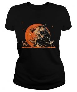 Great Vintage Witch and Moon Halloween  Classic Ladies