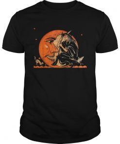 Great Vintage Witch and Moon Halloween  Unisex