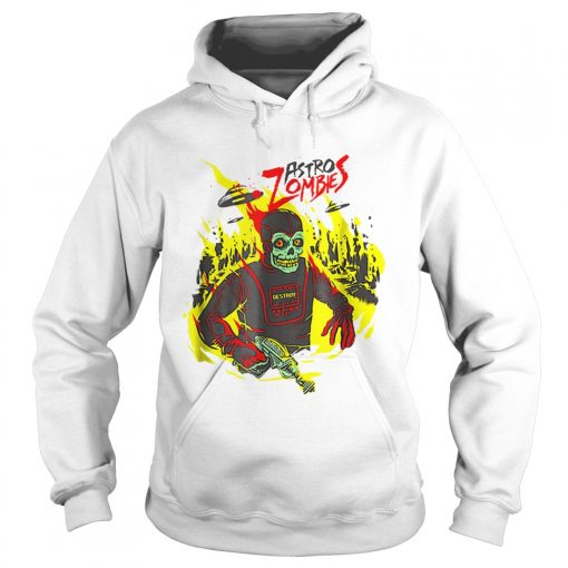 Halloween Astro Zombies Monster Scifi Gift Skate  Hoodie