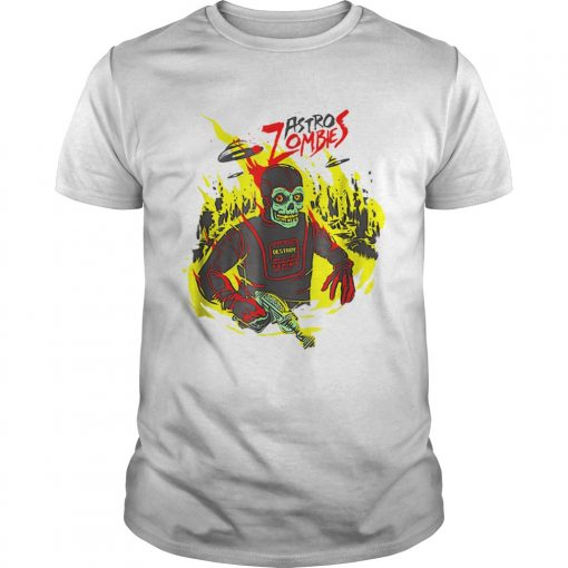 Halloween Astro Zombies Monster Scifi Gift Skate  Unisex