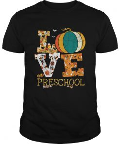 Halloween Love Preschool Pumpkin Teacher  Unisex