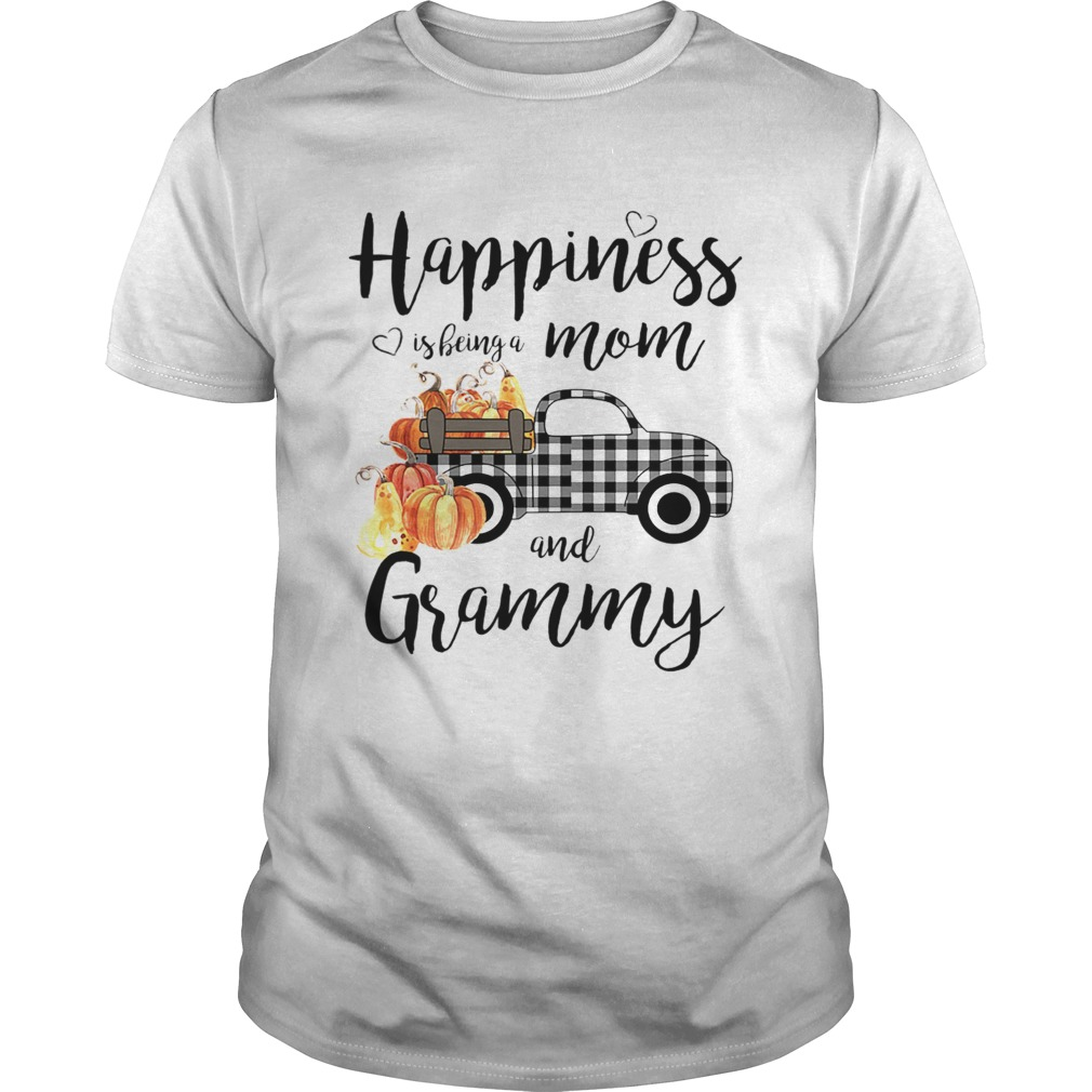 Happiness is being a mom and grammy TShirt Unisex