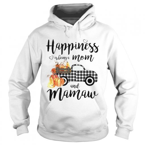 Happiness is being a mom and mamaw T Hoodie
