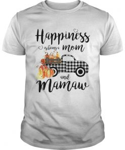 Happiness is being a mom and mamaw T Unisex