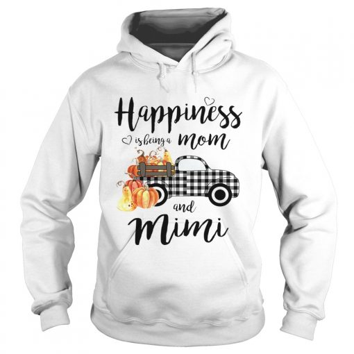 Happiness is being a mom and mimi T Hoodie