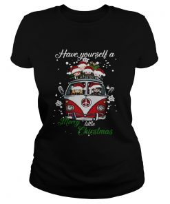 Hippie Harry Potter have yourself a merry little christmas t Classic Ladies