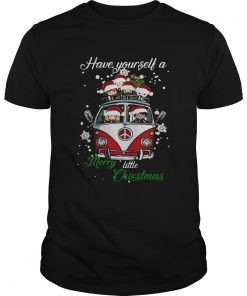 Hippie Harry Potter have yourself a merry little christmas t Unisex