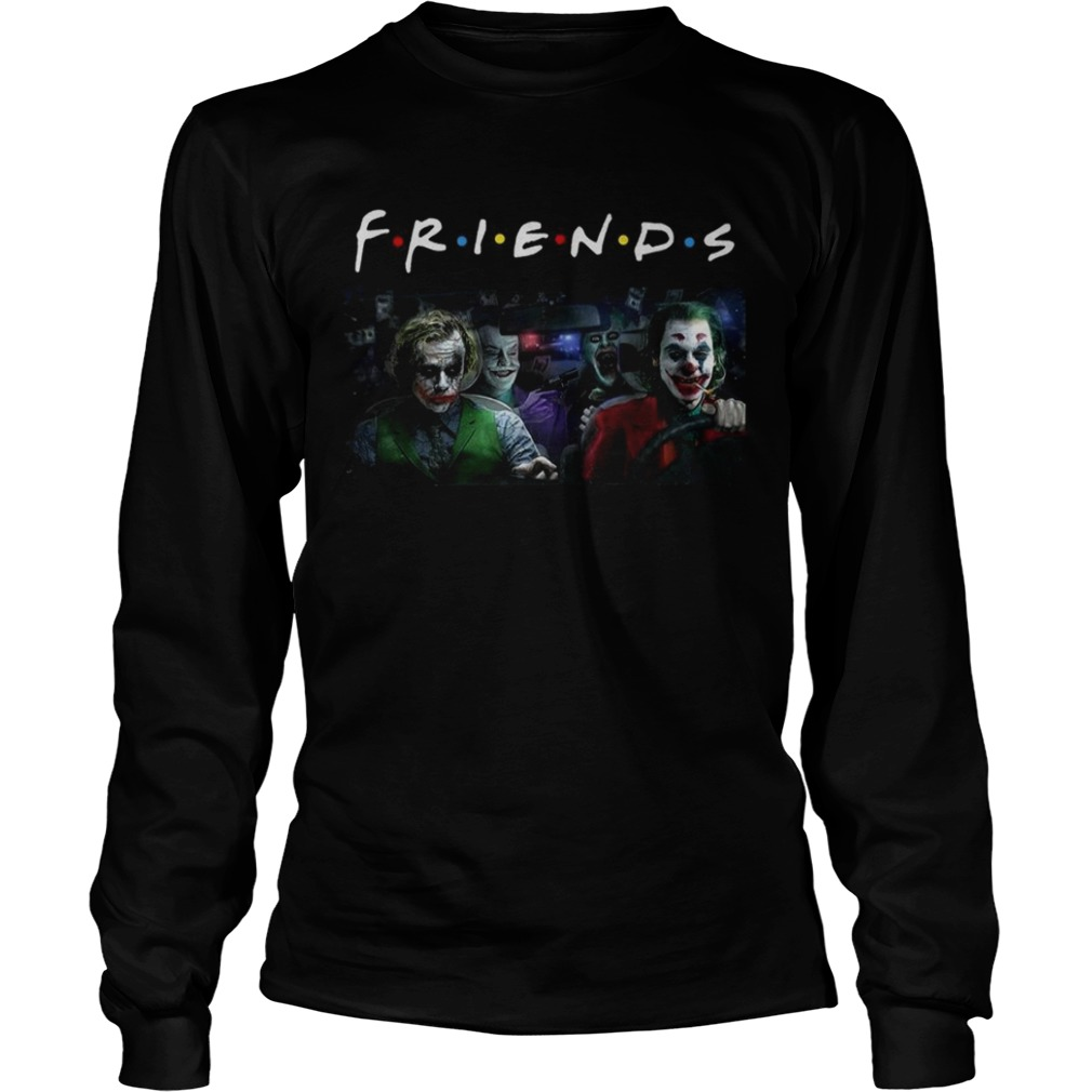 Jack Nicholson Heath Ledger Jared Leto and Joaquin Phoenix friends tv show LongSleeve