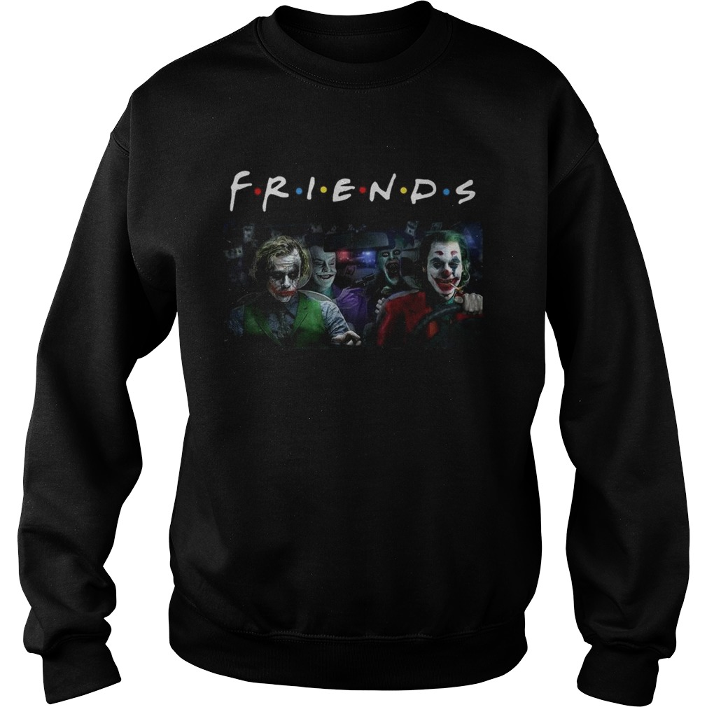 Jack Nicholson Heath Ledger Jared Leto and Joaquin Phoenix friends tv show Sweatshirt