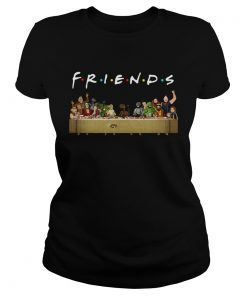 Last Supper Star Wars Friends Tv Show Shirt Classic Ladies