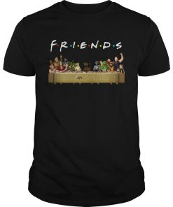 Last Supper Star Wars Friends Tv Show Shirt Unisex