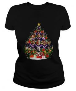 Melbourne Storm team players Christmas tree  Classic Ladies