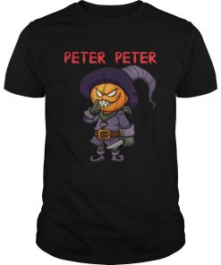 Peter Peter Halloween Killer Pumpkin Head Shirt Unisex