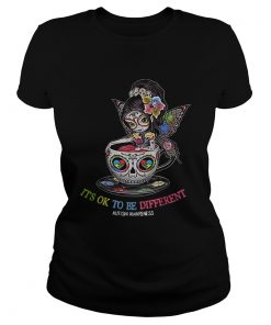 Teacup Girl its ok to be different Autism awareness  Classic Ladies