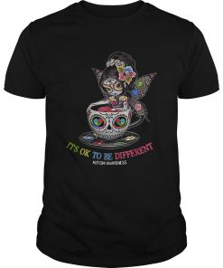 Teacup Girl its ok to be different Autism awareness  Unisex