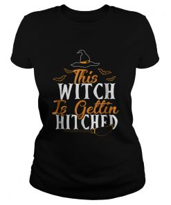 This Witch Is Getting Hitched Halloween  Classic Ladies