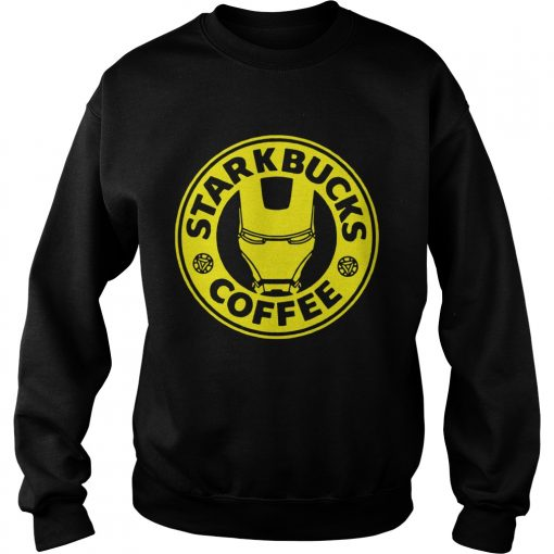 Tony Stark Starbucks Coffee  Sweatshirt