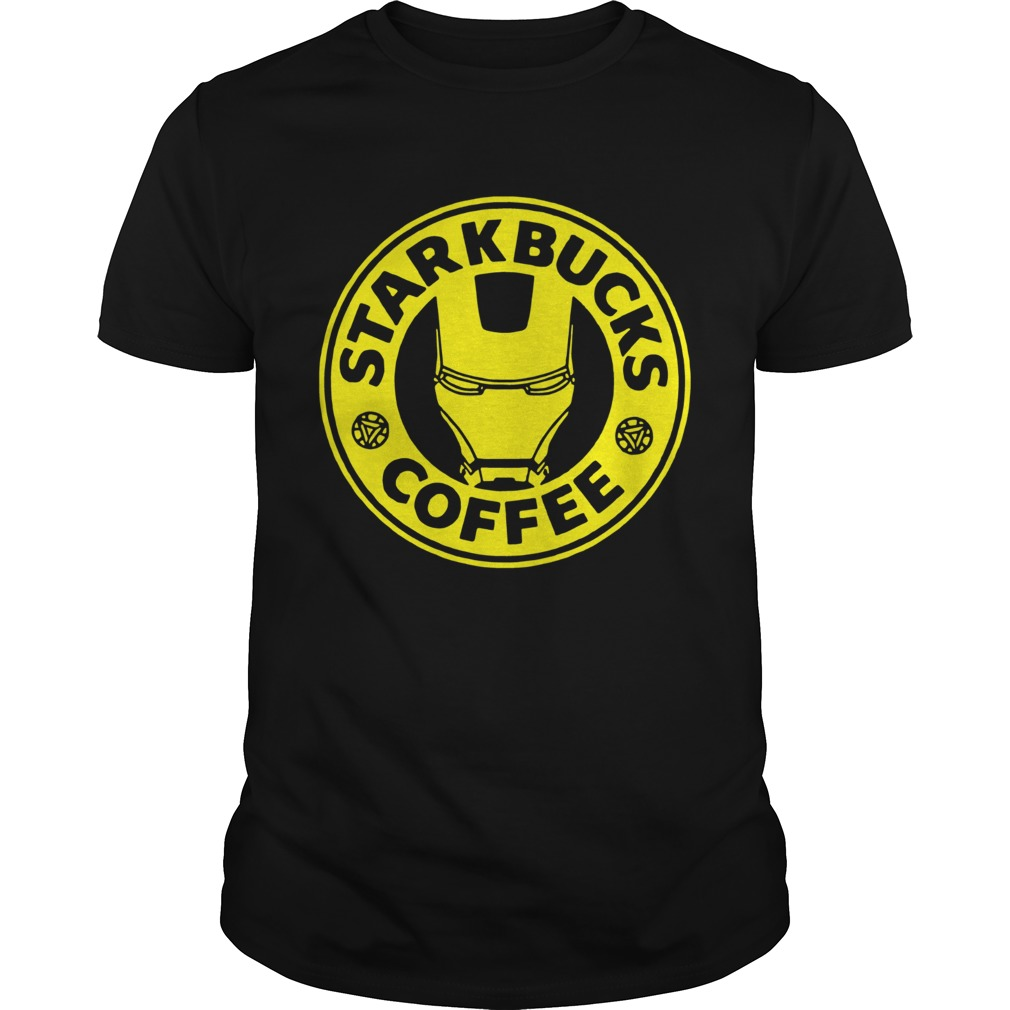 Tony Stark Starbucks Coffee Unisex