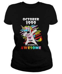 Unicorn October 1999 20 years of being awesome  Classic Ladies