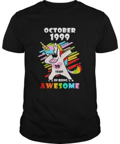 Unicorn October 1999 20 years of being awesome  Unisex