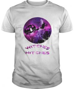 Witches With Hitches Funny Camping Halloween Gift  Unisex