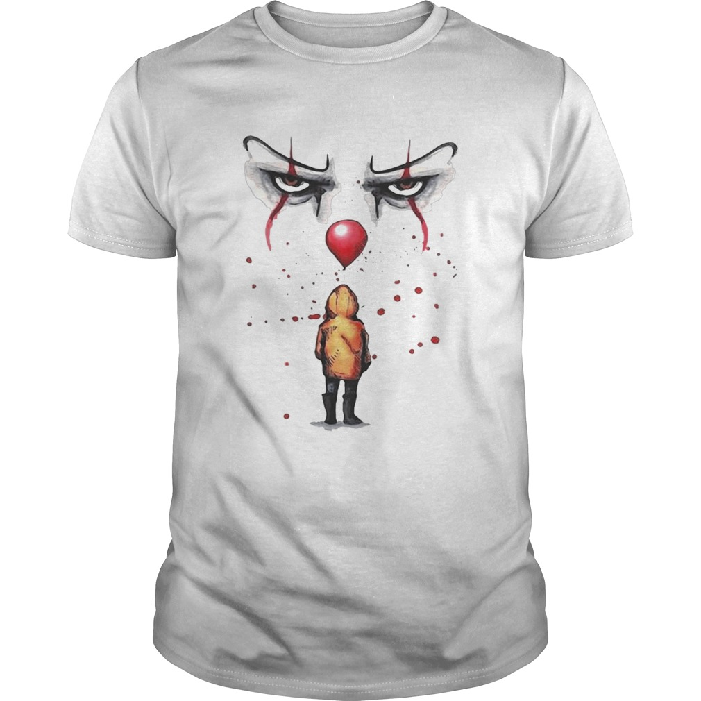 Youll float too Pennywise and Georgie t Unisex